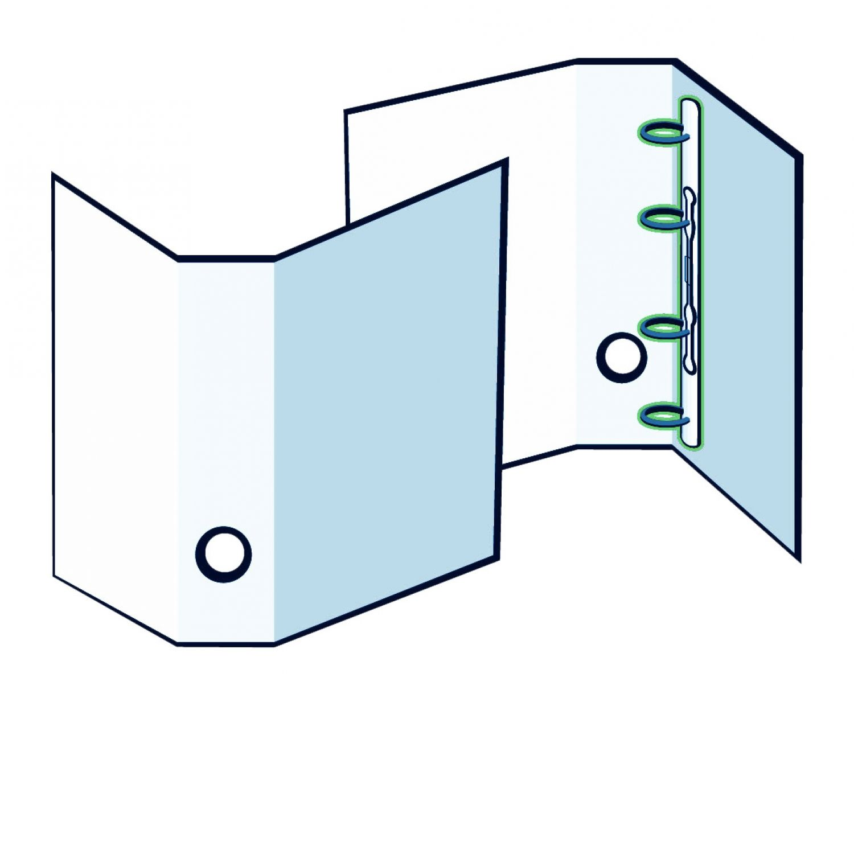 Präsentationsordner aus Naturpapier oder Kraftpapier