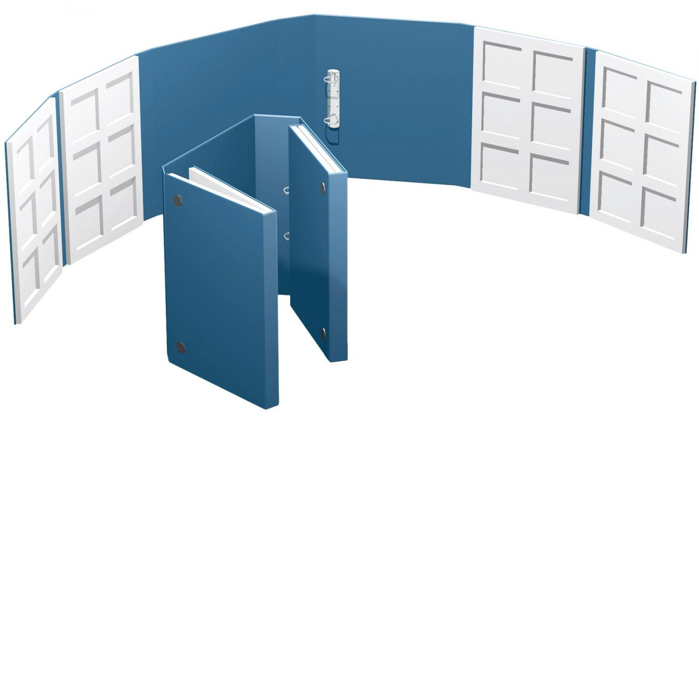 geschlossene Großformat Präsentationsbox
