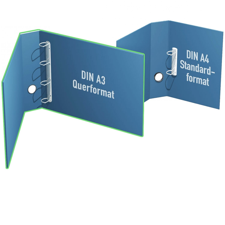 Ringordner DIN A3 quer bis 35mm Mechanikfüllhöhe