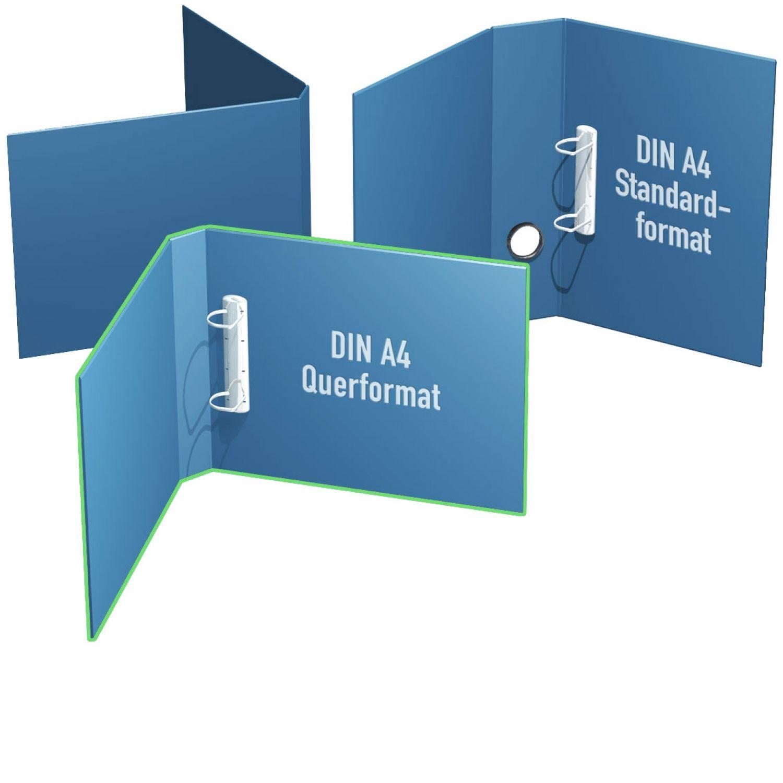Ringbücher DIN A4 quer ab 25mm bis 65mm Mechanikfüllhöhe
