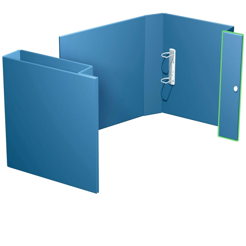 offene Ordnerbox mit Schnabelverschluß bis 35 mm Füllhöhe