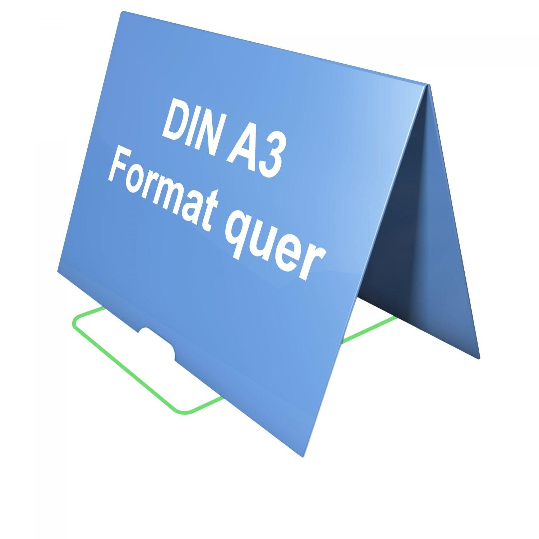 Tisch Flipchart DIN A4-A3 quer mit seperaten Feststeller