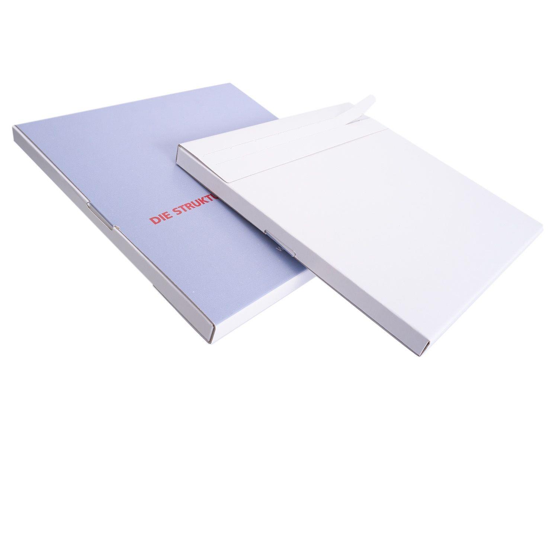 bedruckter Versandkarton, vormontiert, mit Selbstklebeverschluss und Aufreißhilfe