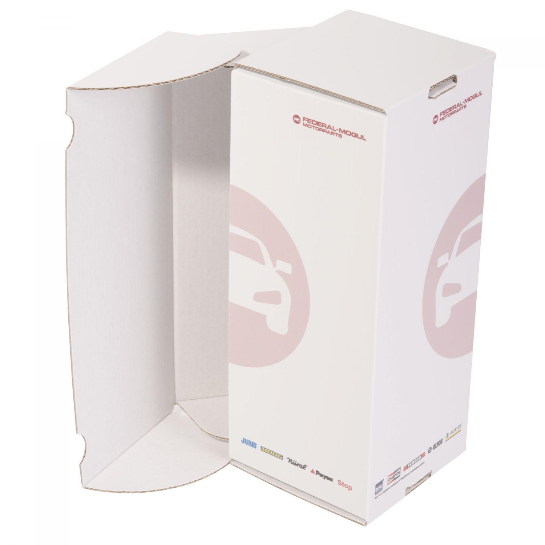 Verpackung aus Wellpappe mit Digitaldruck, Kleinauflagen