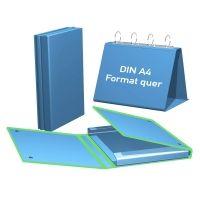 Kombi-Tisch Flipchart A4 quer, mit Archivbox für Zusatzinhalt