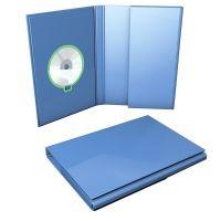 DVD-Verpackung mit Tasche undMagnetverschluß, A4 bis 50mm Füllhöhe.