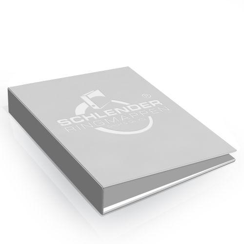 Heißfolienprägung auf cellophanierten Druckbogen z. B weiß auf weiß