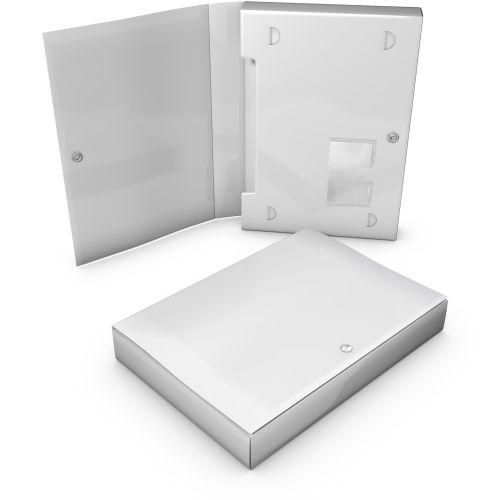 Box, Material PP, A4 bis 40mm Füllhöhe und Steckverschluss