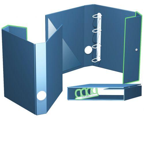 offene Ordnerbox bis 45 mm Füllhöhe