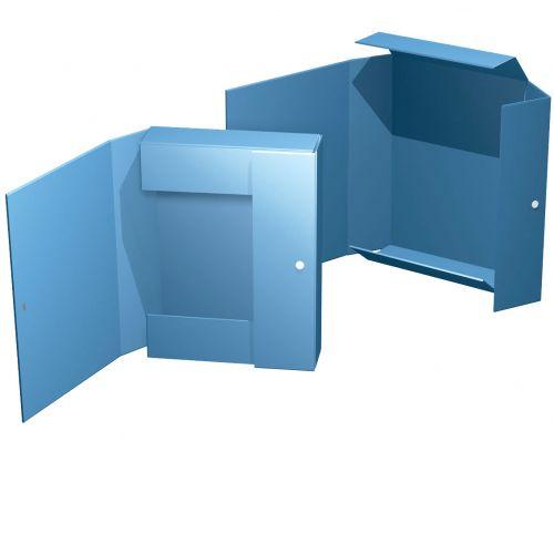 Box mit Magnetverschluss bis 30mm Füllhöhe, Seitenklappe 1 Magnet