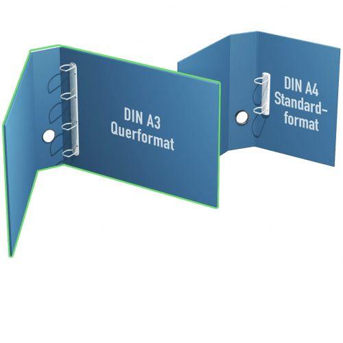 Ordnerformat DIN A3 quer bis 35mm Füllhöhe