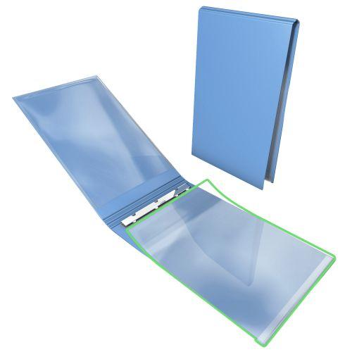 Klemmmappe hochkant mit Durchschreibschutz