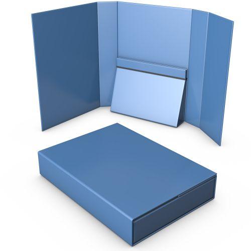 Offene Ordnerbox mit verstärkter Innentasche