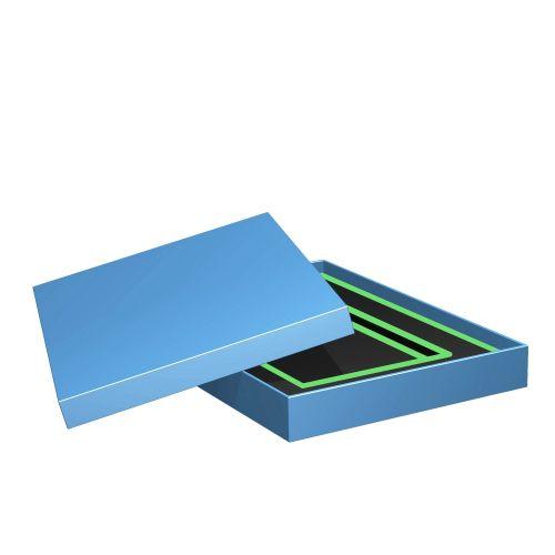 Stülpschachtel als Geschenkkarton oder Verpackungsbox