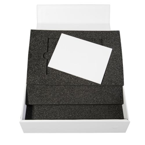 Musterverpackungen mit 3 Schaumstoffeinlagen