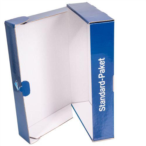 Wellpappverpackung plano mit cellophanierten Druckbogen, Großauflagen