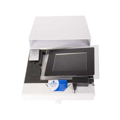 Schubladenbox mit 1 Ausziehvorrichtung und Einlagen