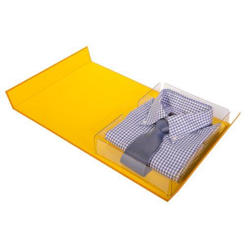 Präsentationsverpackung mit transparentem Einsatz