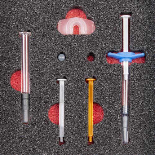 2-farbige  Schaumstoffeinlagen,