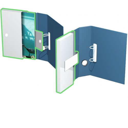 Ordnerbox, bis 30mm Füllhöhe, für ungelochten und gelochten Inhalt