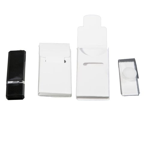 USB Taschen mit Verschluss, verschiedene Materialien