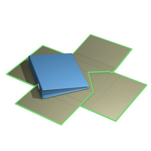 variabler Versandkarton, Kreuzverpackung standard (Einzelverpackung) aus Wellpappe