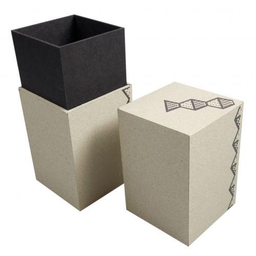 Stülpdeckelschachteln aus Recyclingkarton