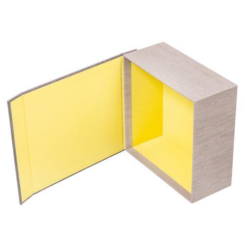 Stülpschachtel mit Magnetdeckel geeignet zum aufrichten