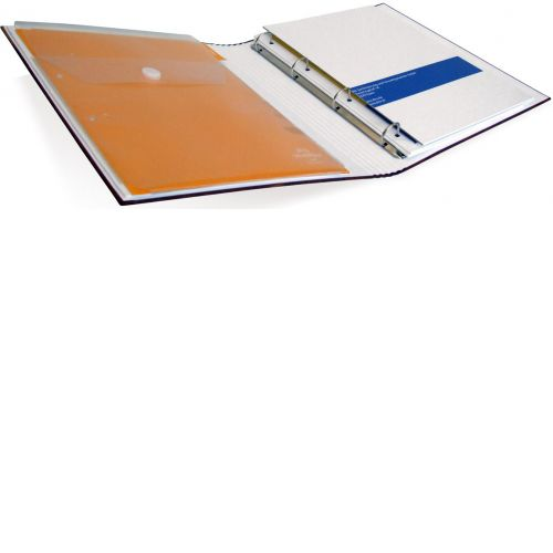 Mappe mit Kombielement gehalten durch Magnete (z.B. Tasche)